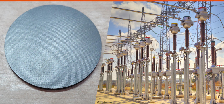 Mersen Graphite discs to protect disconnector in medium voltage transformers