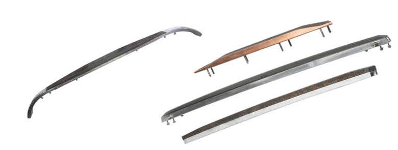 MERSEN   Pantograph Contact strips   carbon strip   rail system   current  collection