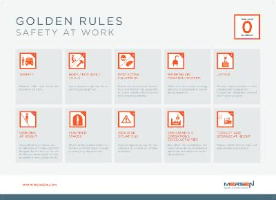 Golden rules Safety