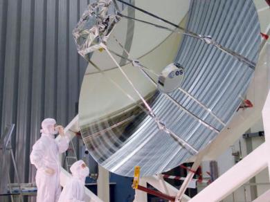 Mersen miroirs et structures stables for Miroir pour telescope