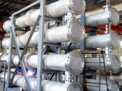 shell and tube heat exchanger Mersen