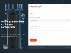 Mersen Heat Exchanger Configurator
