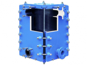 Hykarb Cubic graphite heat exchanger Mersen