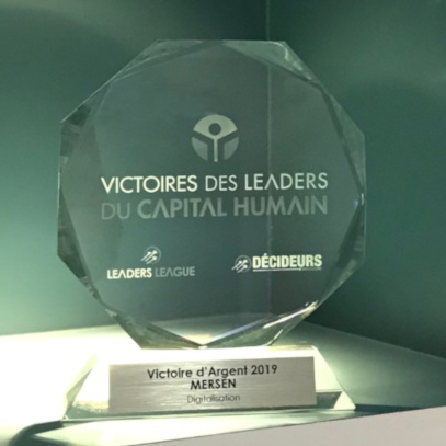 Silver Award for Digitalization Human Capital Mersen
