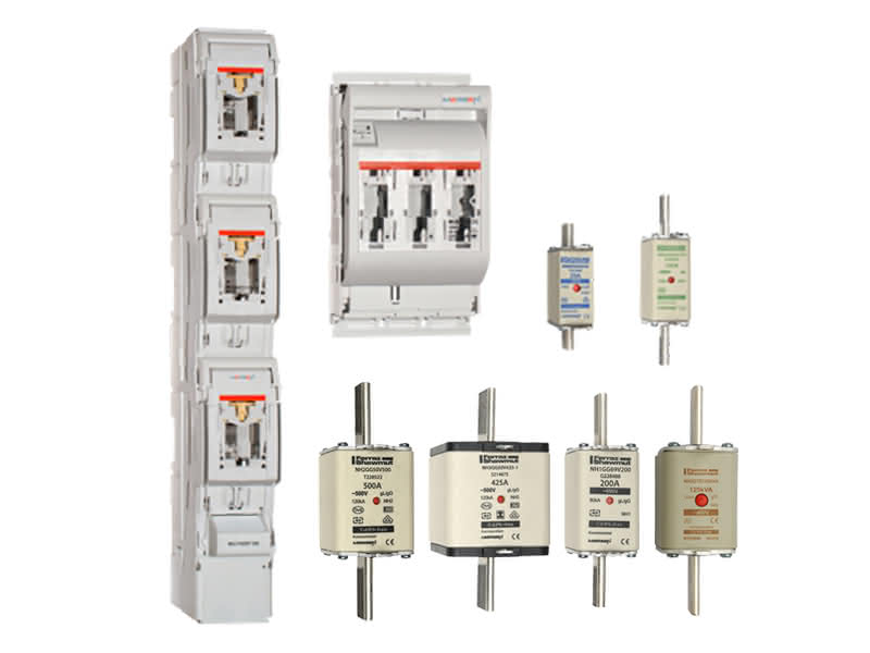 MERSEN | IEC Low voltage general purpose fuses and fusegearMersen